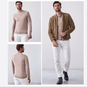 REISS EARL Wool Pullover Sweater L XL EXCELLENT